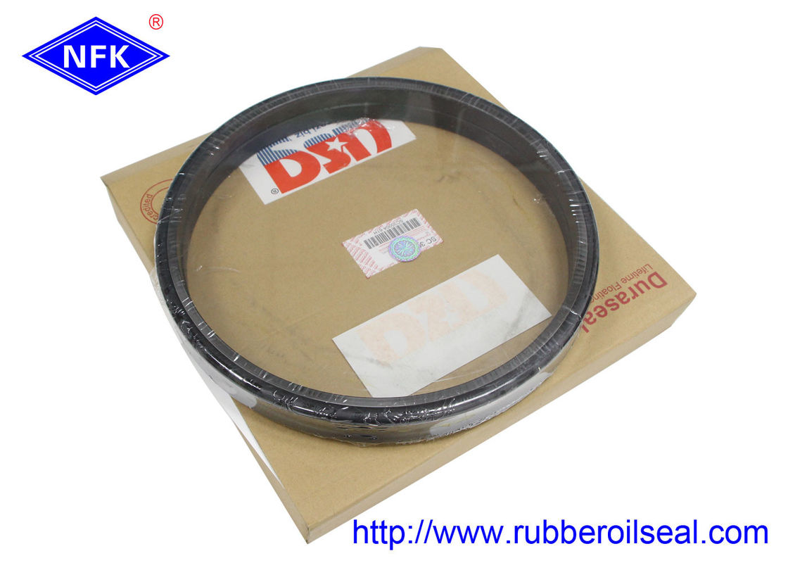 Black Floating Oil Seal 150-27-00025 USG R3000 40Mpa Pressure -35 - 110°C Temp